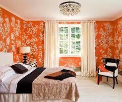 Custom  Bedroom Ideas Orange And Brown Inspiration Of Best - Orange interior design ideas
