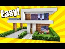 how to build a small modern house minecraft how to build a small modern house tutorial minecraft