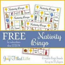 printable christmas bingo game repinned by sos inc resources