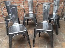 chaises priv es meilleur chaise tolix ancienne d coration cour arri re at tolix