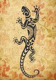 lizard svg tribal lizard svg dxf png eps print and cut