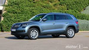 skoda kodiaq interior 2017 skoda kodiaq first drive our french friends get a first taste