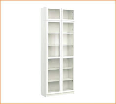 Bookshelf Glass Doors Tall White Bookshelf Cheap White Ikea Hemnes Bookcase For