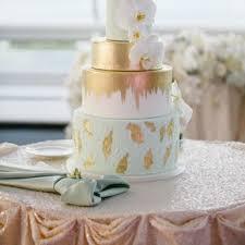 wedding cake gold gold wedding cakes