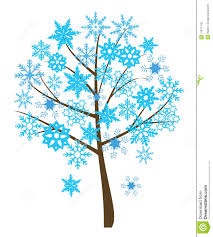 snowflake tree stock vector image of flourish nature 11871740