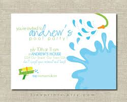 cool party invitations water party invitations cloudinvitation com
