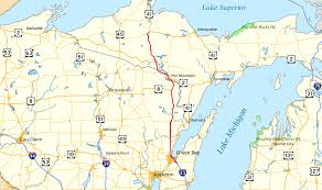 Map Of Northern Wisconsin by U S Route 141 Wikipedia