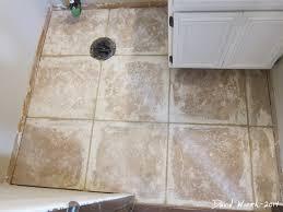 Grout A Tile Floor Bathroom Remodels Part 2 First Floor Bathroom