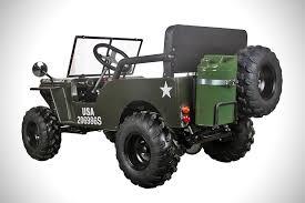 kids gas jeep ice bear thunderbird 125cc mini jeep hiconsumption