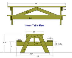 Build A Round Picnic Table by Plans For Building An 8 Foot Long Picnic Table Cool Outdoor