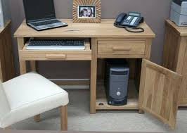 Oak Computer Desks Uk Small Desk For Computer Small Computer Desk With Drawers