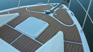 Vinyl Decking For Boats by Hydrodeck Marine Flooring On The Water Solutions
