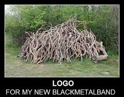 Death Metal Meme - this death metal band has the least death metal logo possible