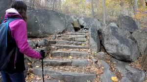 hiking at bear mountain loop via major welch trail and appalachian