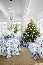 blue and white home decor blue white christmas