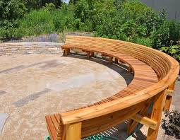 diy curved bench curved benches for fire pits stylish unique outdoor pit bench best
