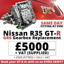 nissan skyline owners club gearbox replacements gr6 available here at svm gt r register