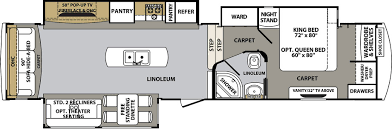 cardinal rv floor plans cardinal fifth wheels floor plans by forest river