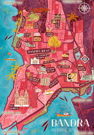 Mumbai Map Mumbai Map Downloadable Bandra Tourist Guide For Visitors