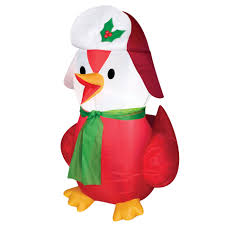 3 5 u0027 inflatable bird with hat self inflatable festive bird from kmart