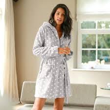robe de chambre peluche femme peignoir a capuche court polaire inspirations avec robe de chambre