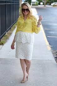 Rachel Parcell Blog The Peplum Skirt U2022 Andi U0027s List