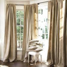 Grommet Burlap Curtains Lovable Burlap Grommet Curtains Ideas With Grommet Burlap Curtains
