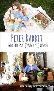 rabbit party rabbit in mr mcgregor s garden birthday party