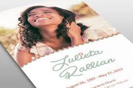 modern funeral programs atelas funeral program template brochure templates creative market
