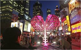 a themed spectacle for times sq the new york times