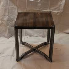 dark walnut end table custom end tables custommade com
