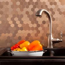 Menards Kitchen Backsplash Beauteous 80 Metal Tile Home Decor Design Ideas Of Tst Glass