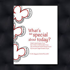 special day birthday card bare greetings