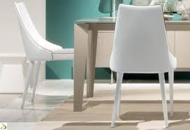 sedie pelle gallery of sedia da soggiorno clara di bontempi arredo design