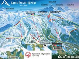 Jackson Hole Wyoming Map Wyoming Special Olympics Map Location Map Grand Targhee Resort