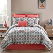 Light Blue Twin Comforter Marina Coral 100 Percent 8 Piece Comforter Set New Bedroom