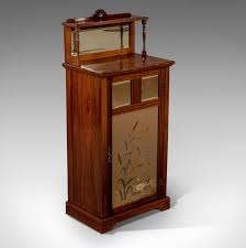 Rosewood Display Cabinet Singapore Antique Edwardian Music Cabinet Rosewood Mirror Top Chiffonier