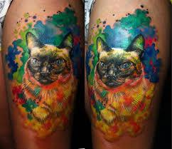 watercolor cat by nikasamarina on deviantart