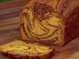 chocolate pumpkin swirl bread with marmalade butter almost home