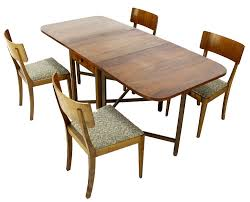 Mid Century Dining Table And Chairs Modern Dining Table Model Dans Design Magz