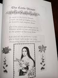 Prayer To St Therese The Little Flower - catholic mother goose nursery rhymes vanderputten melechinsky