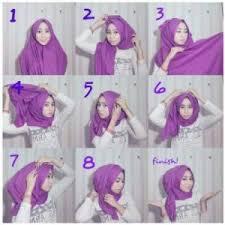 tutorial hijab pashmina kaos yang simple 8 tutorial hijab pashmina kaos simple hijabyuk com