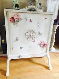 used shabby chic fire screen in cw1 crewe for 20 00 u2013 shpock