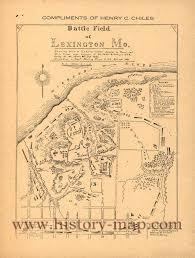 Mo Map Battle Of Lexington