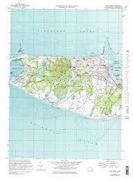 Nantucket Map Nantucket Topographic Map Ma Usgs Topo Quad 41070b1