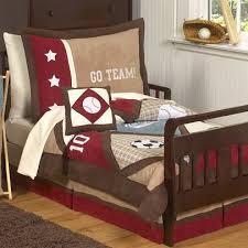 Sports Toddler Bedding Sets Sweet Jojo Designs All Sports 5 Toddler Bedding Set