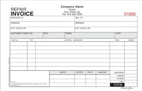 Repair Order Template Excel Auto Repair Invoice 16 Popular Auto Repair Invoice Templates