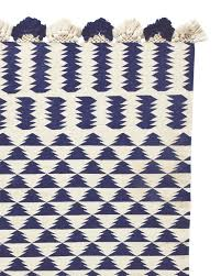 Black And White Zig Zag Rug Hayden Zig Zag Rug Black Pottery Barn