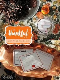 diy be thankful jar oh my creative