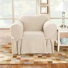 Duck Cotton Slipcovers Cotton Duck Loveseat Slipcover Sure Fit Target